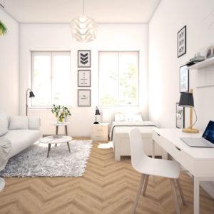 Homestaging - Tisch, Sofa ,Bett