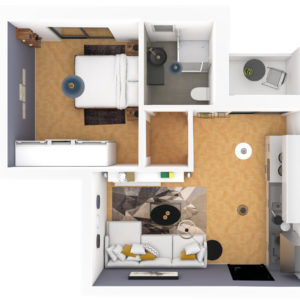 Virtuellles Homestaging - 3D Plan