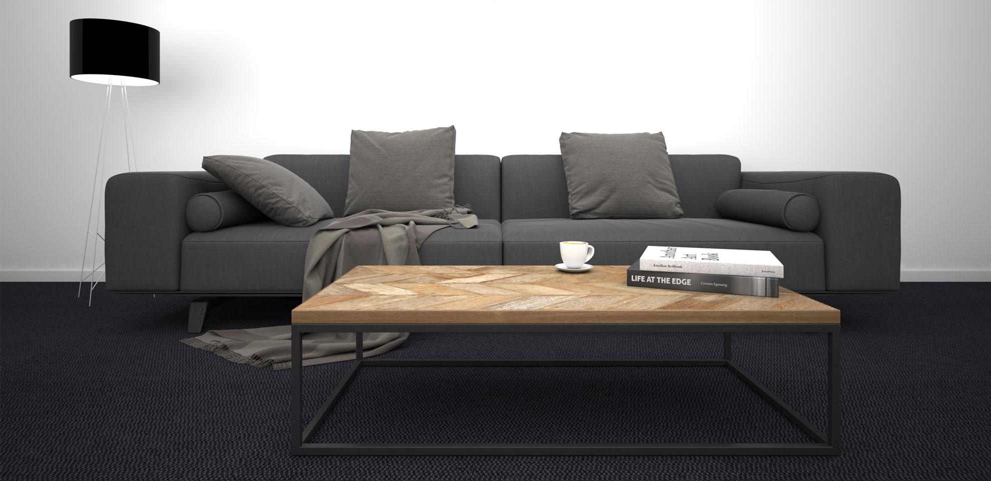 Sofa grau Design