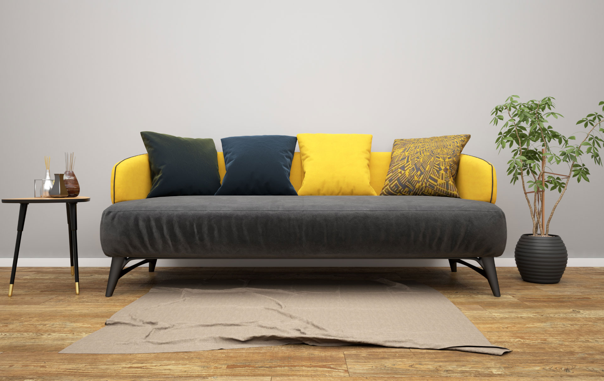 Sofa geld design Stil